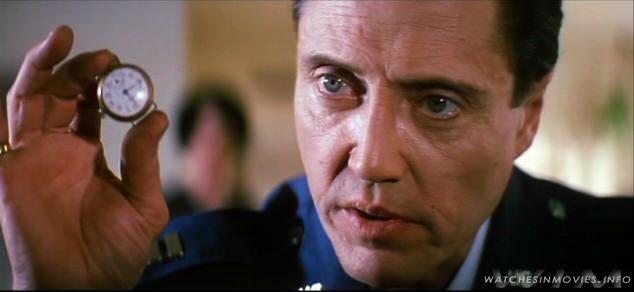 Pulp Fiction. Dir. Quentin Tarantino. By Quentin Tarantino. Prod. Lawrence Bender. Perf. Samuel L. Jackson and Uma Thurman. Miramax, 1995. Pictured: Christopher Walken